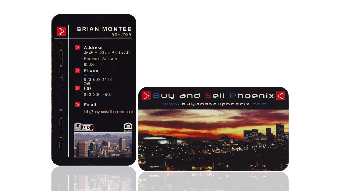 Buy and Sell Phoenix Business Card